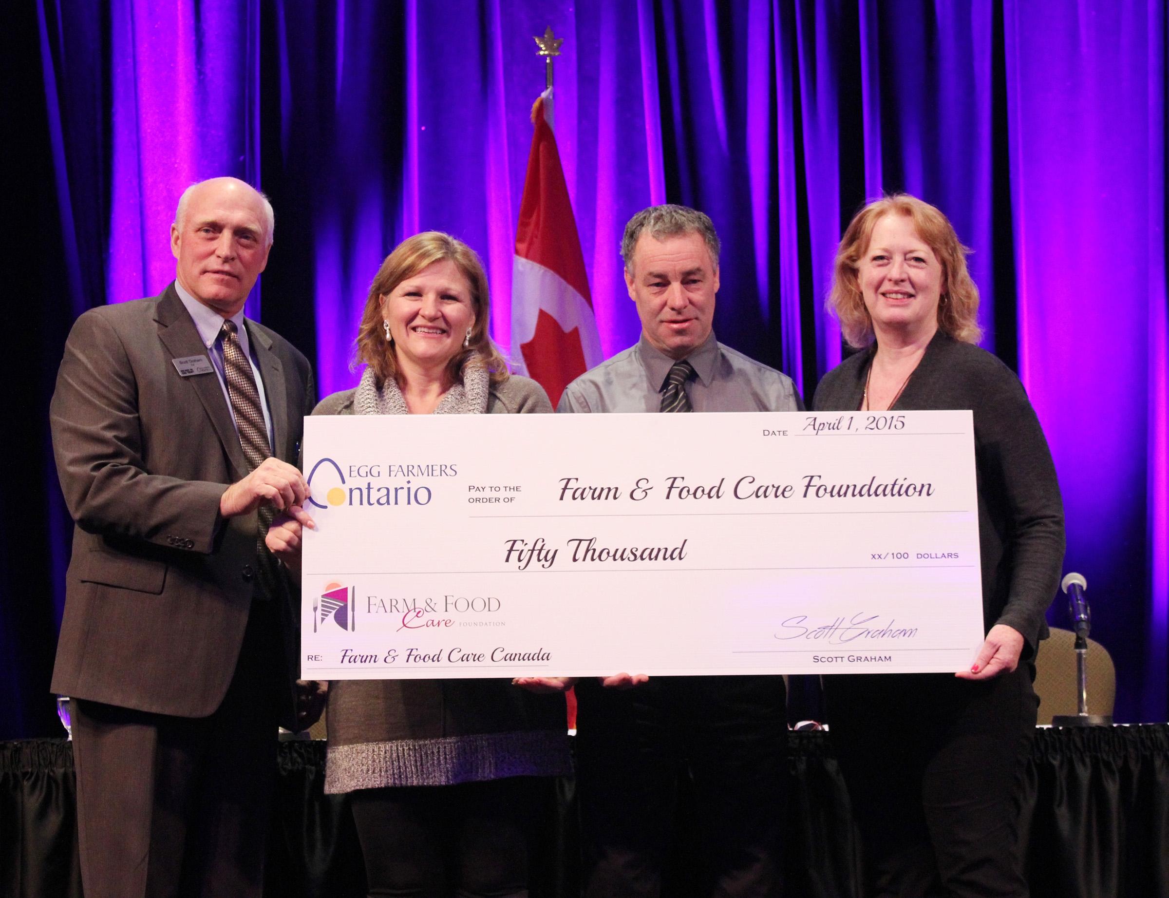 Egg Farmers of Ontario donate $50,000 to Farm & Food Care ...