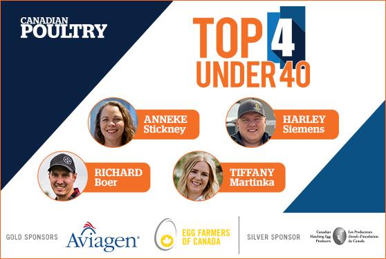 2021 Top 4 Under 40 winners